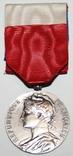 """Серебрянная медаль почёта""""Минист.Труда и Социальной Безопасности"""" IV степень (Франция), фото №3"""