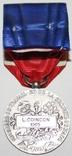 """Серебрянная медаль почёта""""Минист.Труда и Социальной Безопасности"""" IV степень (Франция), фото №5"""