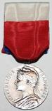 """Серебрянная медаль почёта""""Министерства соцобеспечения"""" (Франция), фото №2"""