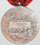 """Серебрянная медаль почёта""""Министерства соцобеспечения"""" (Франция), фото №5"""