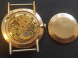 Золото СССР 583 проба 23 камня Часы Полет, фото №2