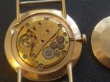 Золото СССР 583 проба 23 камня Часы Полет, фото №10