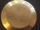 Золото СССР 583 проба 23 камня Часы Полет, фото №11