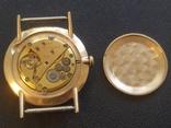 Золото СССР 583 проба 23 камня Часы Полет, фото №12