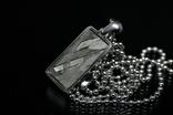 Кулон із залізо-кам'яним метеоритом Seymchan, із сертифікатом автентичності, фото №2