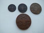 Комплект медных монет Николая 1 (Масоны), фото №3