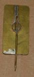Крокус. польша латунь, фото №3
