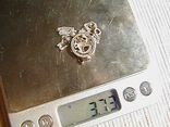 Цепочка с кулончиком. Серебро 925 пробы. Длина 40 см. Вес 3,73 грамм., фото №7