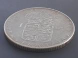 1 крона, Швеция, 1967 год, серебро 0.400 пробы, 7 грамм, фото №5