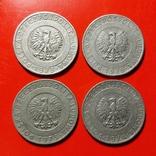 20 злотых 1973, 1974, 1976. 4 шт. Лотом, фото №3