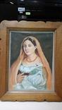Женский портрет, маслом на холсте, 37 х 28 см, из Германии, фото №5