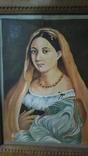 Женский портрет, маслом на холсте, 37 х 28 см, из Германии, фото №6
