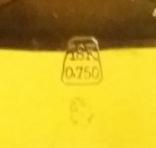 Золотые швейчарские часы 750 пробы ANCRE 15 RUBIS, фото №13
