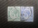 Марки 1922гКения и Уганда.  Клония Британии, фото №2