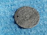 Гданьский грош 1623 года. SB под гербом. Сиг. III Ваза, фото №5