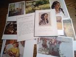 Тетяна Яблонська комплект 12 листівок 1956, фото №2