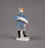 Статуэтка Фигурка Гармонист и плясуньи (5  штук), фото №3