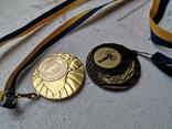 Медали спортивные 2 шт, фото №2