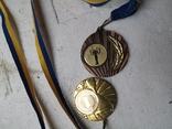 Медали спортивные 2 шт, фото №4