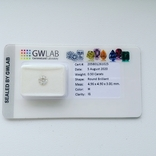 Бриллиант / діамант / 0.50ct-H-I1, фото №2