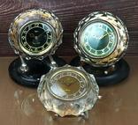 Часы настольные МАЯК Снежинка (3 штуки), фото №2