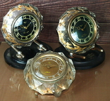 Часы настольные МАЯК Снежинка (3 штуки), фото №6