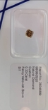 Бриллиант / діамант / 0,33 карат(красивый цвет), фото №4