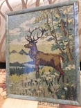 Мозаичное полотно Олень, фото №5