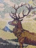 Мозаичное полотно Олень, фото №6