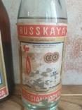 Русская Водка 0.5Л 5 бутылок СССР, фото №9