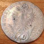 Австрия 1803 г.,20 крейцеров, фото №4