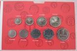 Разменные монеты СССР 1985 г. в буклете, фото №2