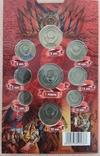 Разменные монеты СССР 1980 г. в буклете, фото №6