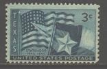США. 1945. 100 лет шт. Техас **., фото №2
