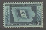 США. 1946. 100 лет шт. Айова **., фото №2