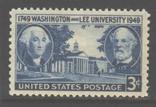 США. 1949. 200-летие университета Вашингтона и Ли **., фото №2