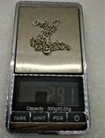 Кулон Алюминиевое Сердце на Серебряной Цепочке Ручная Работа Уэльс, фото №8