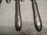 Набор столовые ножи и вилки, 6 пар, нержавейка*, фото №4