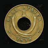 Британская Восточная Африка 1 цент 1930, фото №2