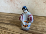 Скульптура-миниатюра - Украиночка с венком.Киев, фото №2