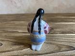 Скульптура-миниатюра - Украиночка с венком.Киев, фото №6