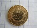 20 франков 1895 год, фото №3