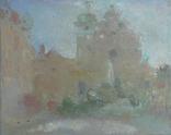 Львовский пейзаж. Утро, фото №2