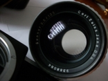 Объектив sonnar 3,5/135 и фотоаппарат киев-19 футляр, фото №5