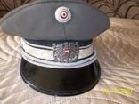 Фуражка  офицерская  австрийская  армия. раз. 56., фото №2