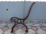 Ножка из чугуна для скамейки, фото №3