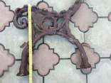 Ножка из чугуна для скамейки, фото №5