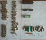 Конденсаторы разные: БМТ, ПО, ПСО, МБМ, БМ, прочее. Всего 103 шт., фото №4