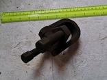 Скоба карабин металлический зажим замок тяга кронштейн прицеп, фото №5