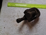 Скоба карабин металлический зажим замок тяга кронштейн прицеп, фото №6